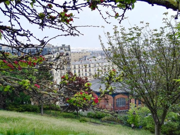 View of Paris from Sacré Coeur Basilica