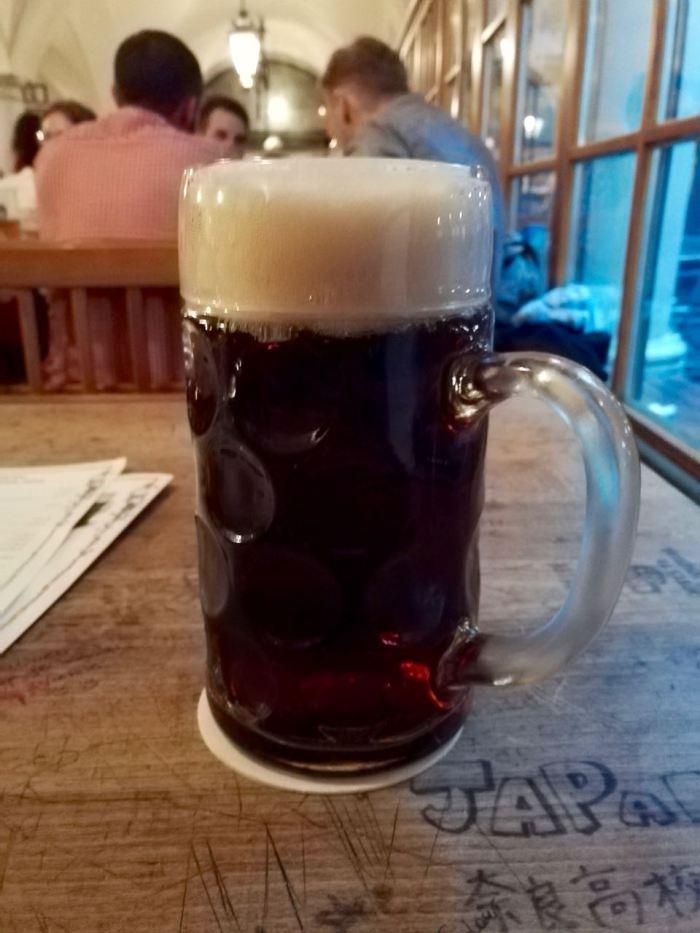 Beer at Hofbräuhaus, Munich