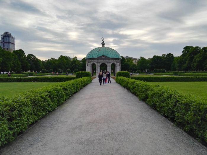 Architecture at Englischer Garten