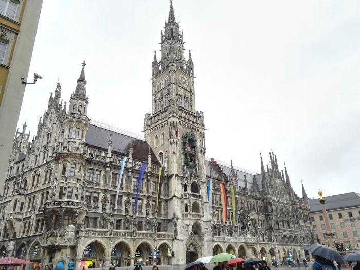 Neues Rathaus in Marienplatz, Munich