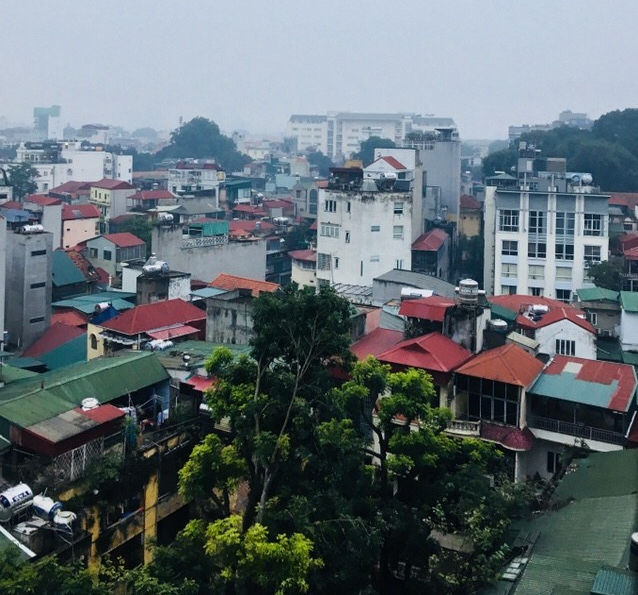 Cloudy day in Hanoi