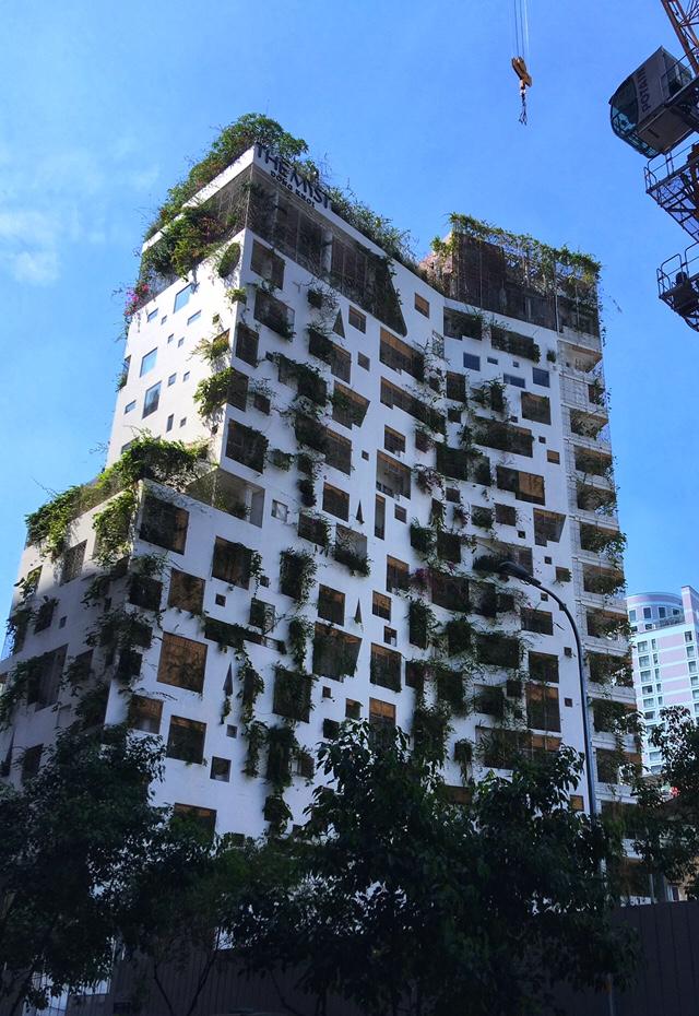 Modern architecture at Saigon