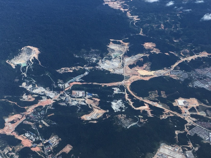Malaysia from above