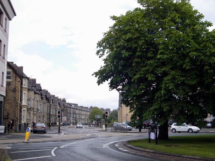 Streets of Harrogate, North Yorkshire, UK