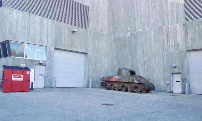 Tank in Ottawa, Canada