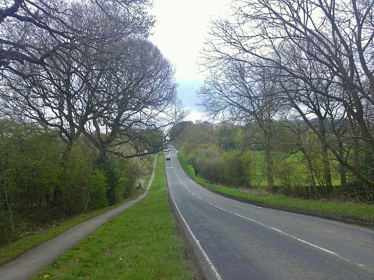 Highway near Harrogate, UK. April 2011, Sony Ericsson Vivaz U5i