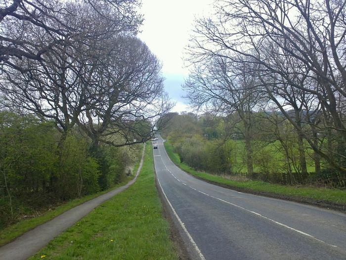 Highway near Harrogate, UK. April 2011, Sony Ericsson Vivaz U5i